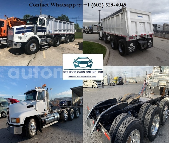 Big with watermark 2009 western star 4900sa triaxle dump truck .