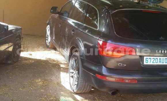Acheter Occasions Voiture Audi Q7 Noir à Nouakchott au Nouakchott Ouest