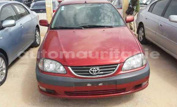Buy Used Toyota Avensis Red Car in Nouakchott in West Nouakchott