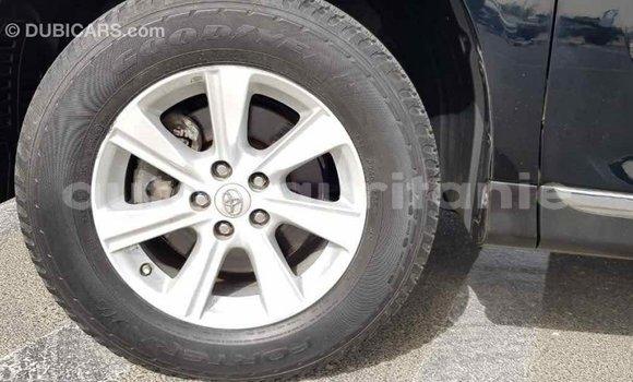 Acheter Importé Voiture Toyota Highlander Noir à Import - Dubai, Adrar
