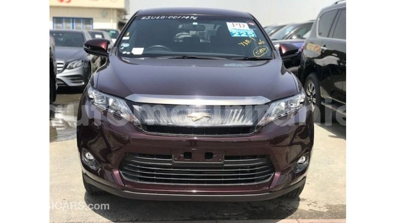 Big with watermark toyota harrier adrar import dubai 3348