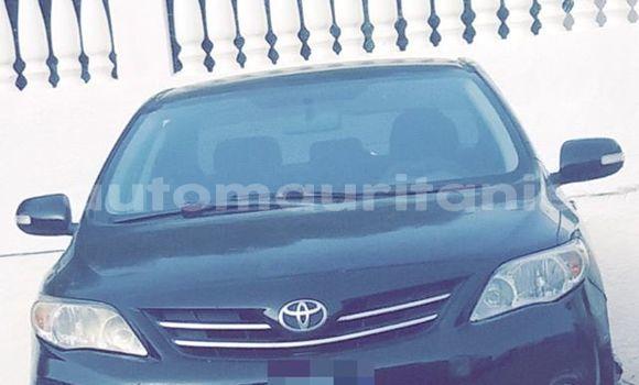 Acheter Occasion Voiture Toyota Corolla Noir à Nouakchott au Nouakchott Ouest