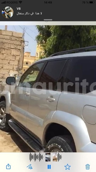 Big with watermark toyota land cruiser prado nouakchott ouest nouakchott 3495
