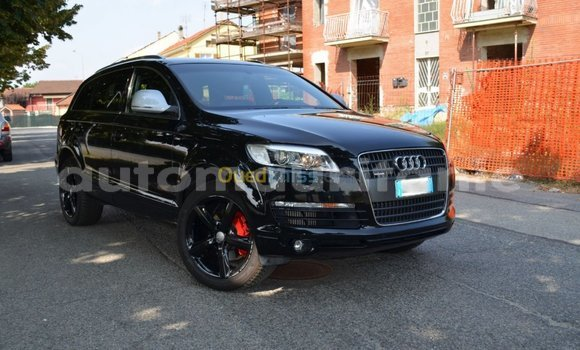Buy Used Audi Q7 Black Car in Arafat in Wilaya of Trarza